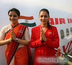 stewardess Urdu Meaning