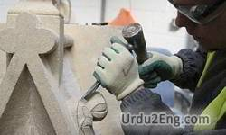 stonemason Urdu Meaning
