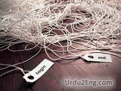 tangle Urdu Meaning