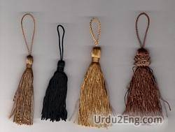 tassel Urdu Meaning
