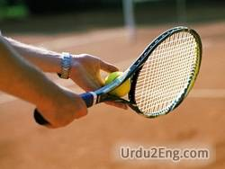 tennis Urdu Meaning
