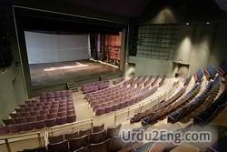 theater Urdu Meaning