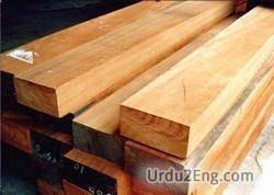 timber Urdu Meaning