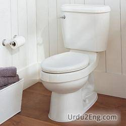toilet Urdu Meaning