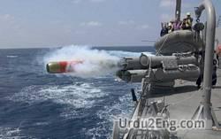torpedo Urdu Meaning