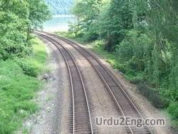track Urdu Meaning