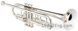 trumpet Urdu Meaning