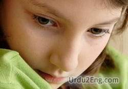 Upset Urdu Meanings