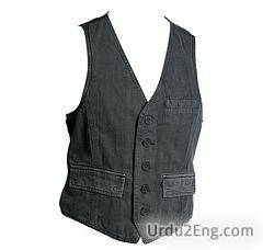 vest Urdu Meaning