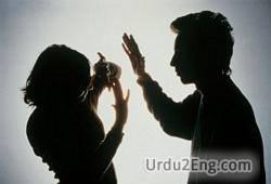violence Urdu Meaning