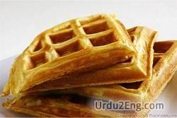 waffle Urdu Meaning