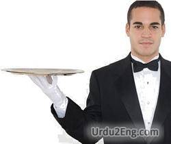 waiter Urdu Meaning