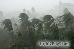 windstorm Urdu Meaning
