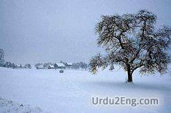 winter Urdu Meaning