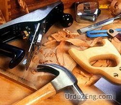 woodwork Urdu Meaning