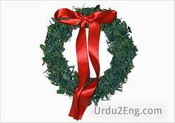 wreath Urdu Meaning